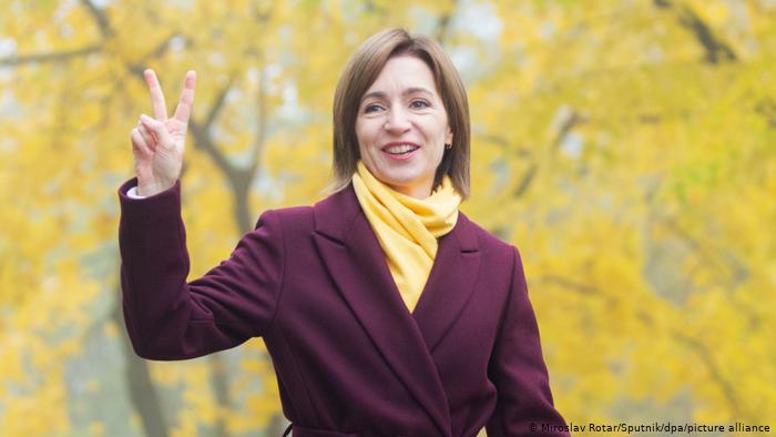 Мая Санду, вибори, Президентка Молдови