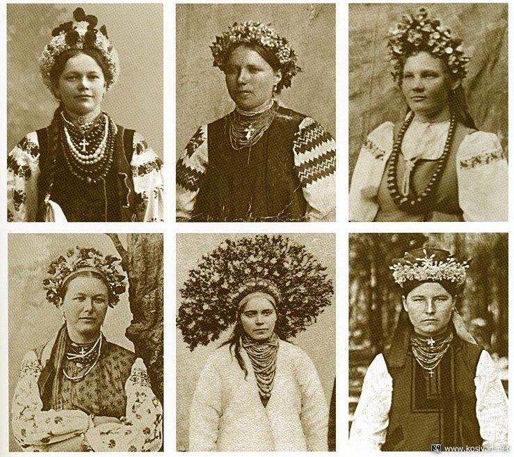 Намисто, прикраси, українки