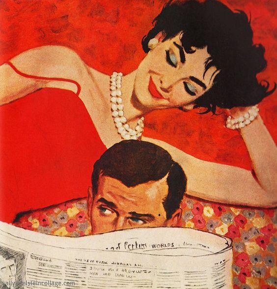 Жінка і чоловік разом на дивані