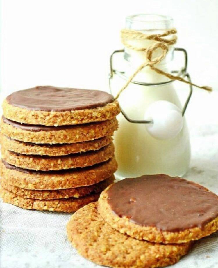 Цільнозернове печиво, корисне печиво