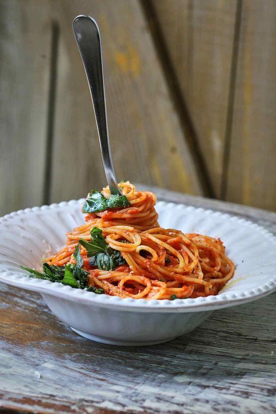 Спагеті, заправки для спагеті