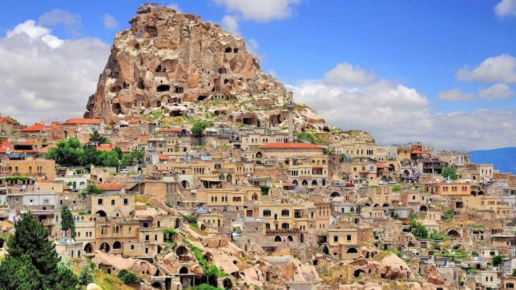 Каппадокія, печерні міста