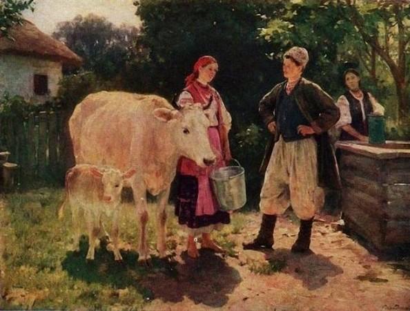 Микола Пимоненко, живопис