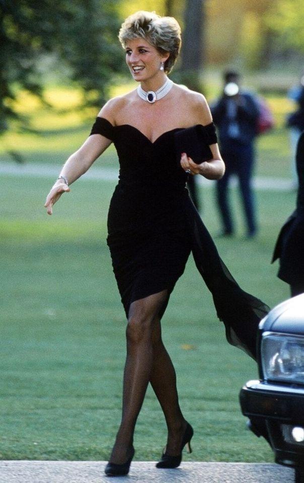 """Принцеса Діана, """"сукня помсти"""""""