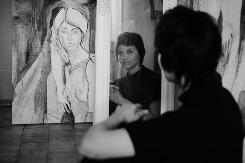"""""""Інтегрую живопис Примаченко в тату"""": правнучка художниці, яка єдина має її хист і жодної картини у спадку - 1 зображення"""