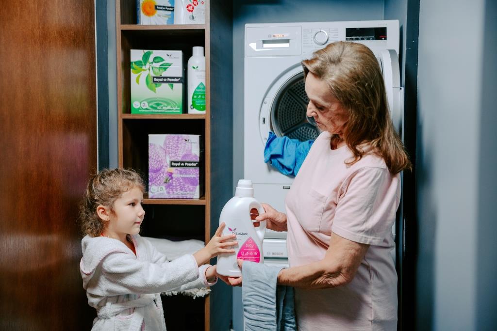 Бренд DeLaMark, екологічний засіб для прання