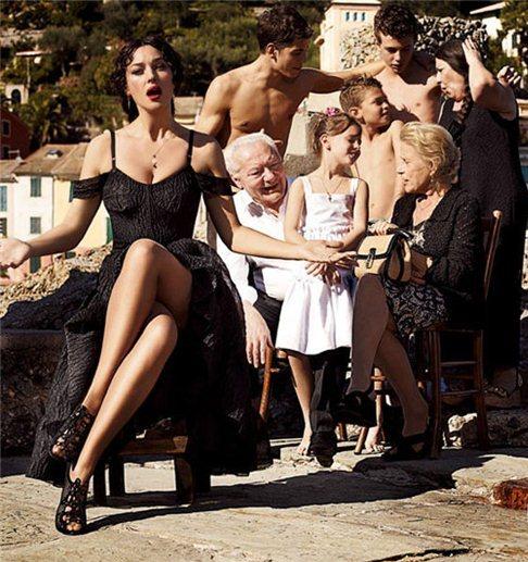 Моніка Белуччі, Dolce & Gabbana