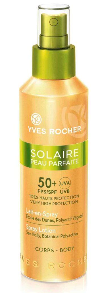 Сонцезахисне молочко, Yves Rocher, сонцезахисні засоби
