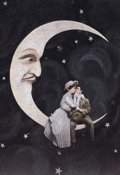 Паперовий Місяць, закохана пара