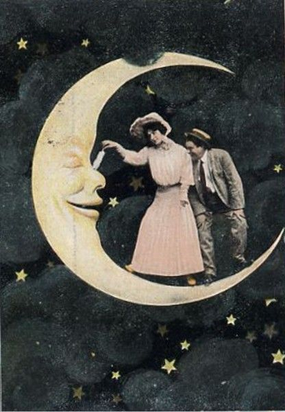 Вінтажний Місяць, мистецьке натхнення