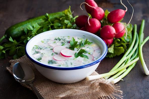Старослов'янська окрошка, рецепт холодного супу