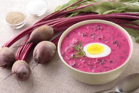 Литовський холодник, рецепт холодного супу